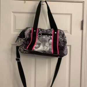 Lululemon Duffel Black, Paris Pink Silver Spoon